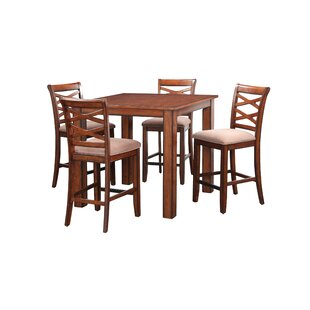 Oakley 5 Piece Counter Height Dining Set by DarHome Co