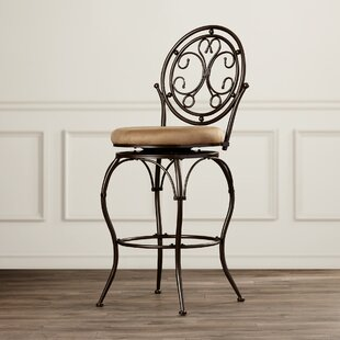 Sonya 30 Swivel Bar Stool Fleur De Lis Living