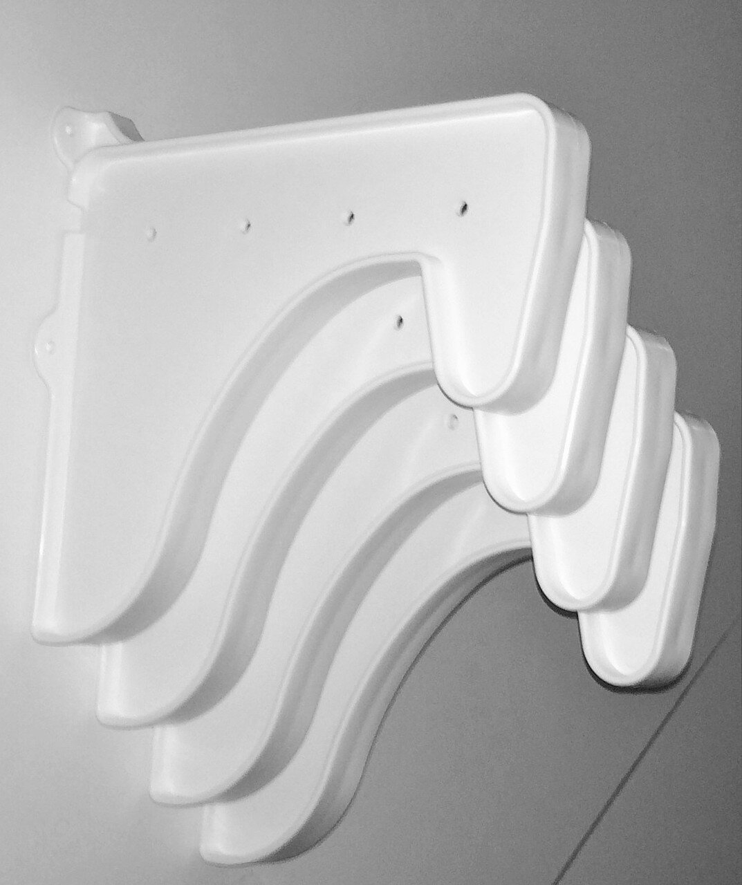 Picture of: Wfx Utility 4 End Brackets For Closet Rod And Shelf Wayfair