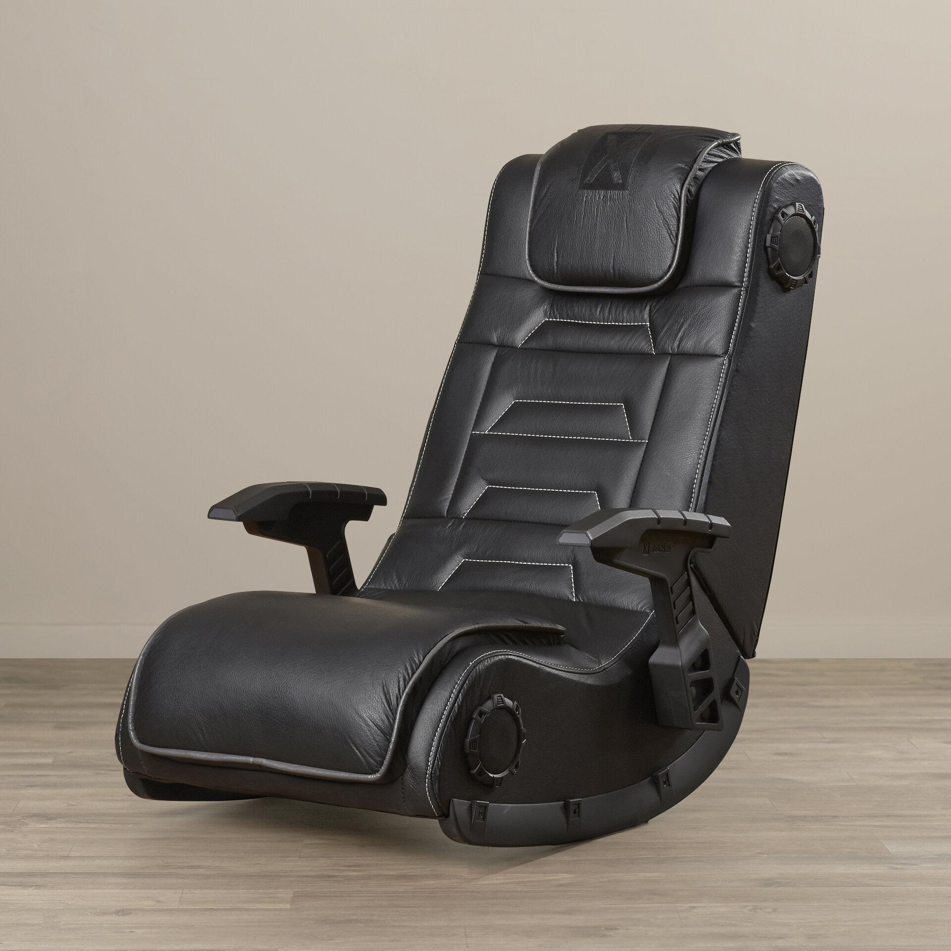 Amazing Orren Ellis Wireless Video Gaming Chair U0026 Reviews | Wayfair