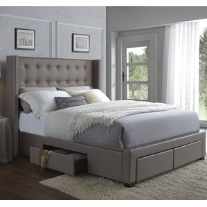 IKEA HEMNES bed frame with 4 storage boxes