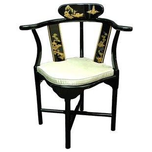 Corner Fabric Armchair by Oriental Furniture