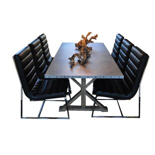 Rhead 7 Piece Dining Set Ebern Designs