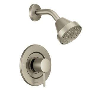 brushed nickel shower fixtures tub shower quickview brushed nickel shower faucets youll love wayfair