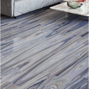 Dellano 8 X 48 Porcelain Wood Look Tile In Blue Gray
