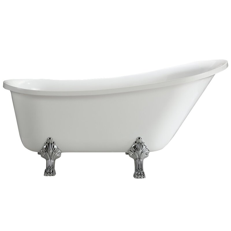 Jacqueline 70 X 26 Soaking Bathtub