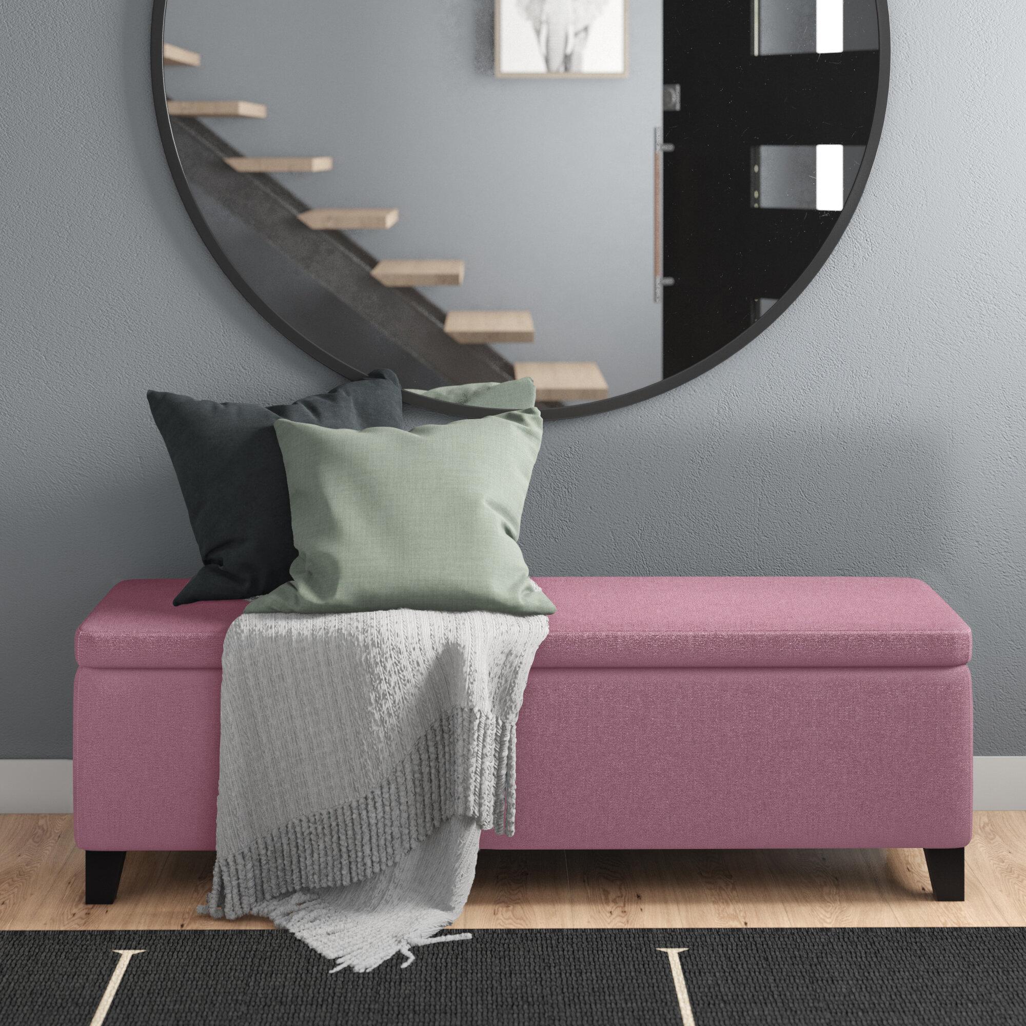 Costello Upholstered Storage Bench Reviews Allmodern