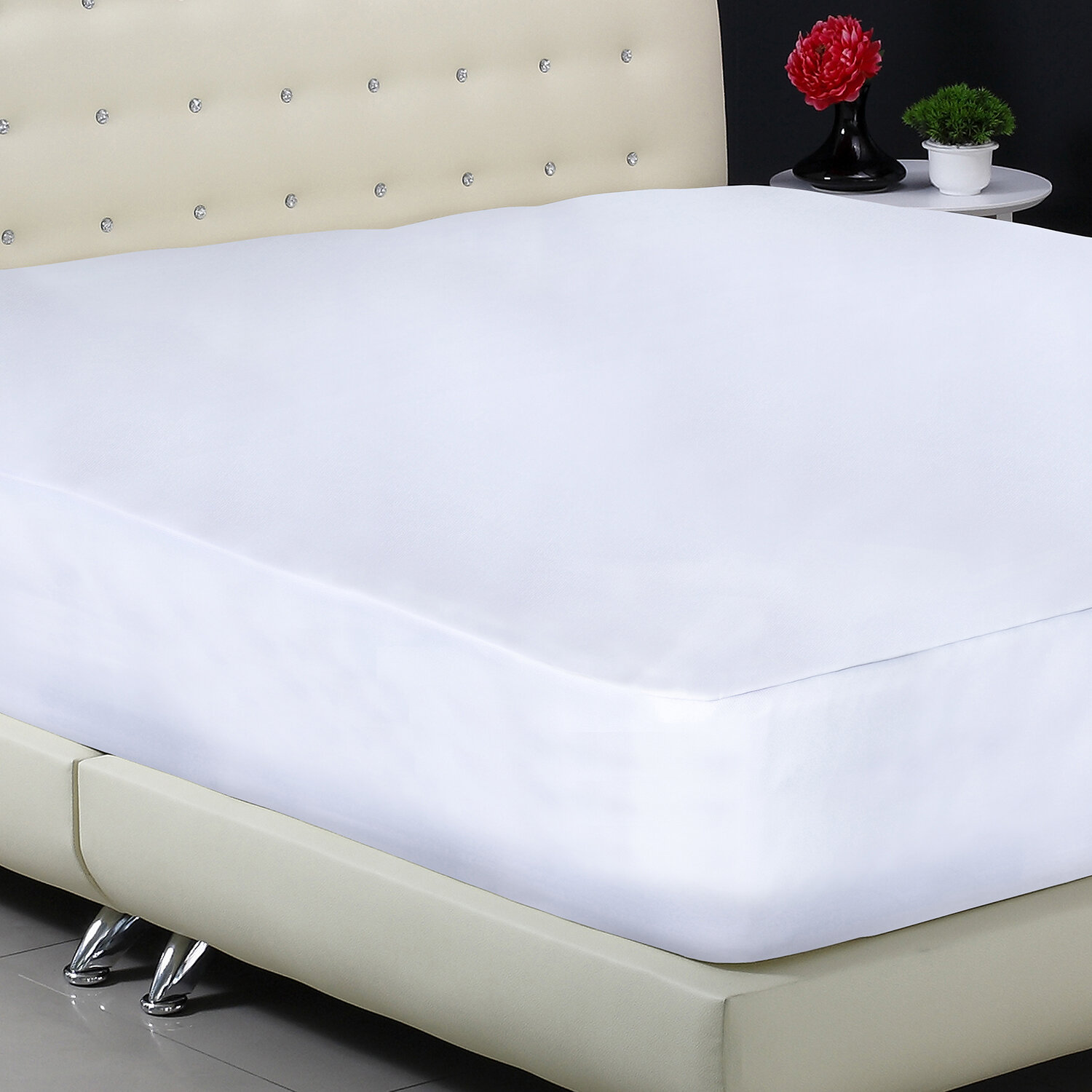 Protect A Bed Basic Fitted Hypoallergenic Waterproof Mattress Protector Reviews Wayfair