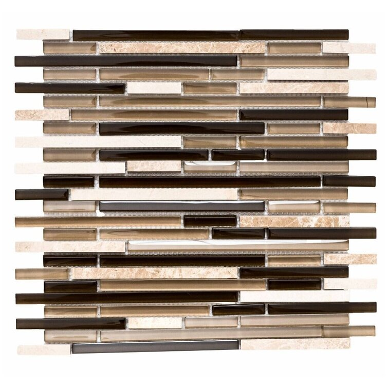 """Victory 1"""" x 3"""" Linear Mosaic Tile"""