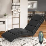 Synthetic Leather Chaise Lounge With Massage Function