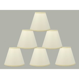 Check Prices 6 Paper Hardback Empire Lamp Shade (Set of 6) By Charlton Home