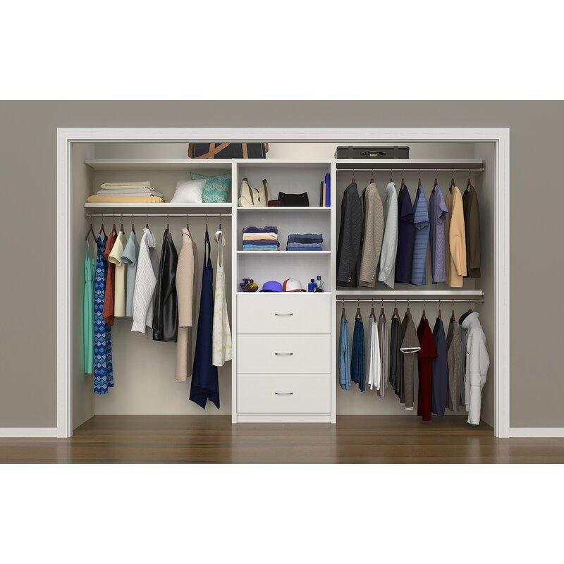 Ecreations 56 W 127 Closet System