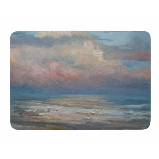 Order Pink Clouds by Carol Schiff Memory Foam Bath Mat By East Urban Home