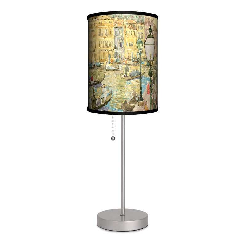 Lamp In A Box Maurice Prendergast Grand Canal Venice 20 Table Lamp Reviews Wayfair