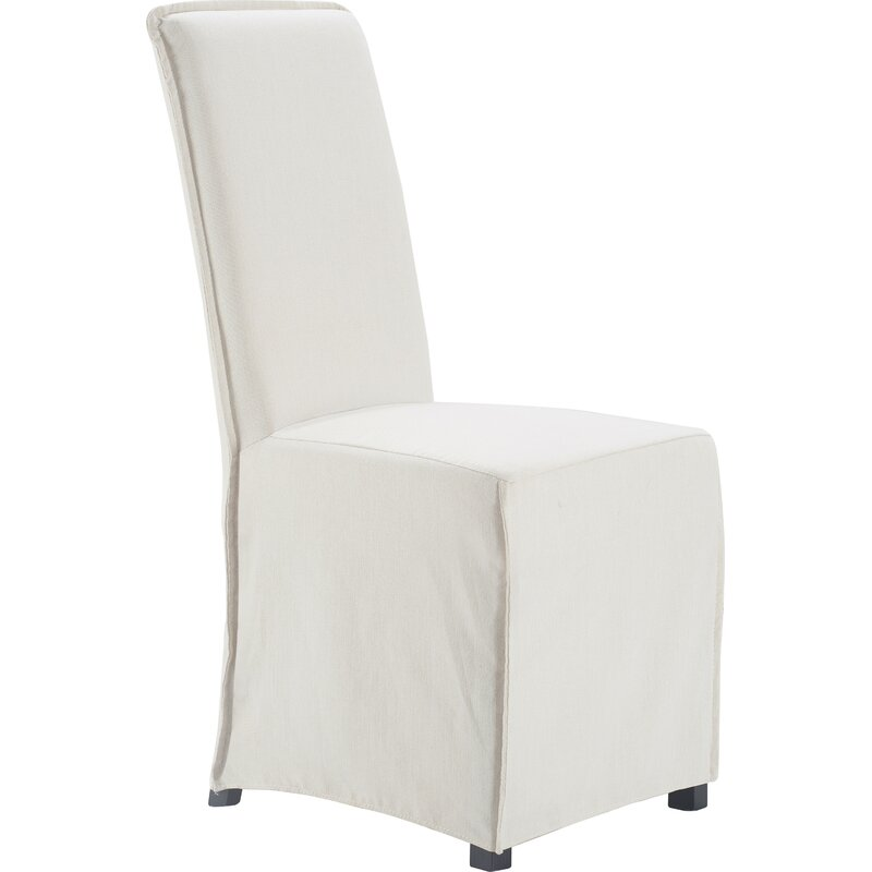 Box Cushion Dining Chair with Slipcover