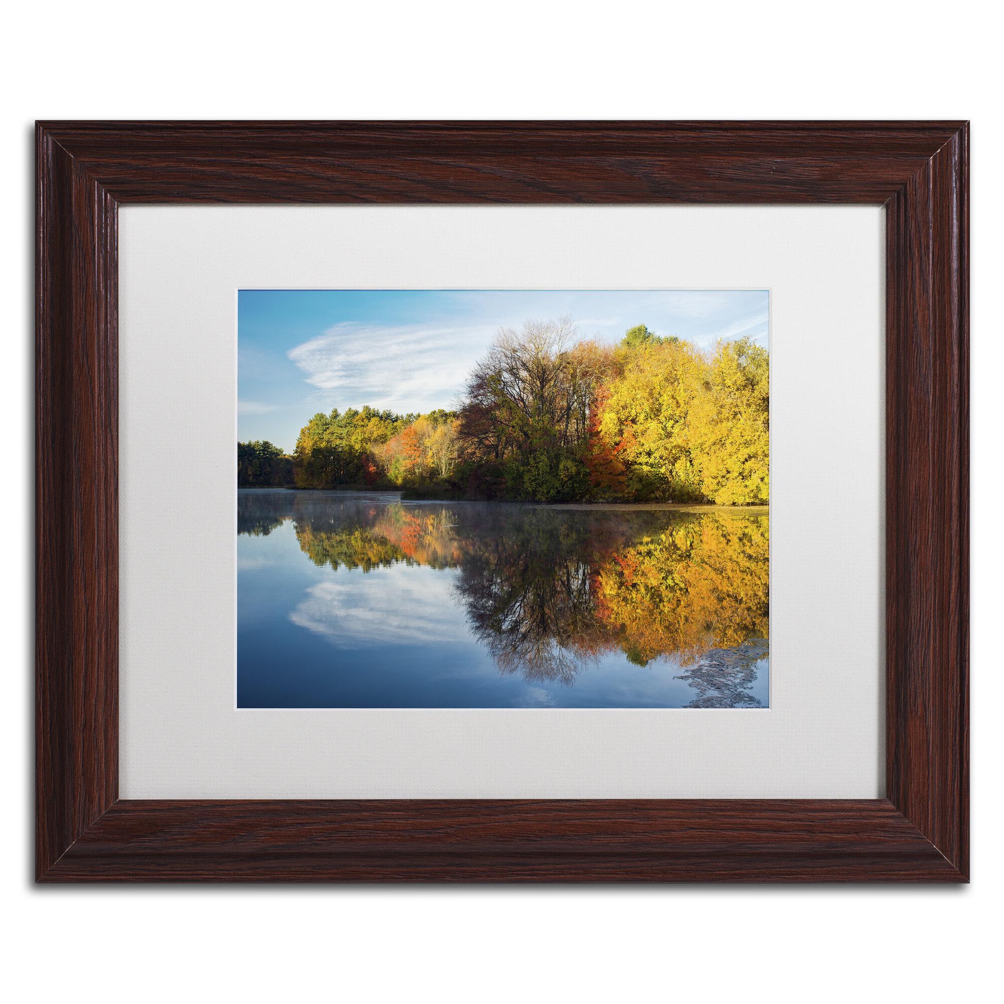 Autumn Mill Pond  Sweatshirt   Sizes//Colors