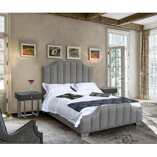 Comparison Gengler Queen Upholstered Sleigh Bed by Everly Quinn Reviews (2019) & Buyer's Guide