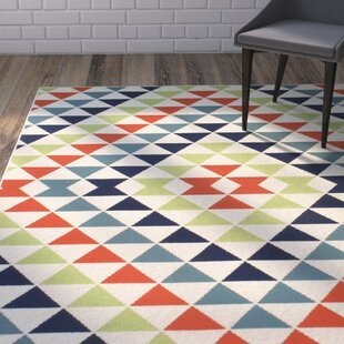 Amora Hand-Woven Blue/Green/Red Indoor/Outdoor Area Rug