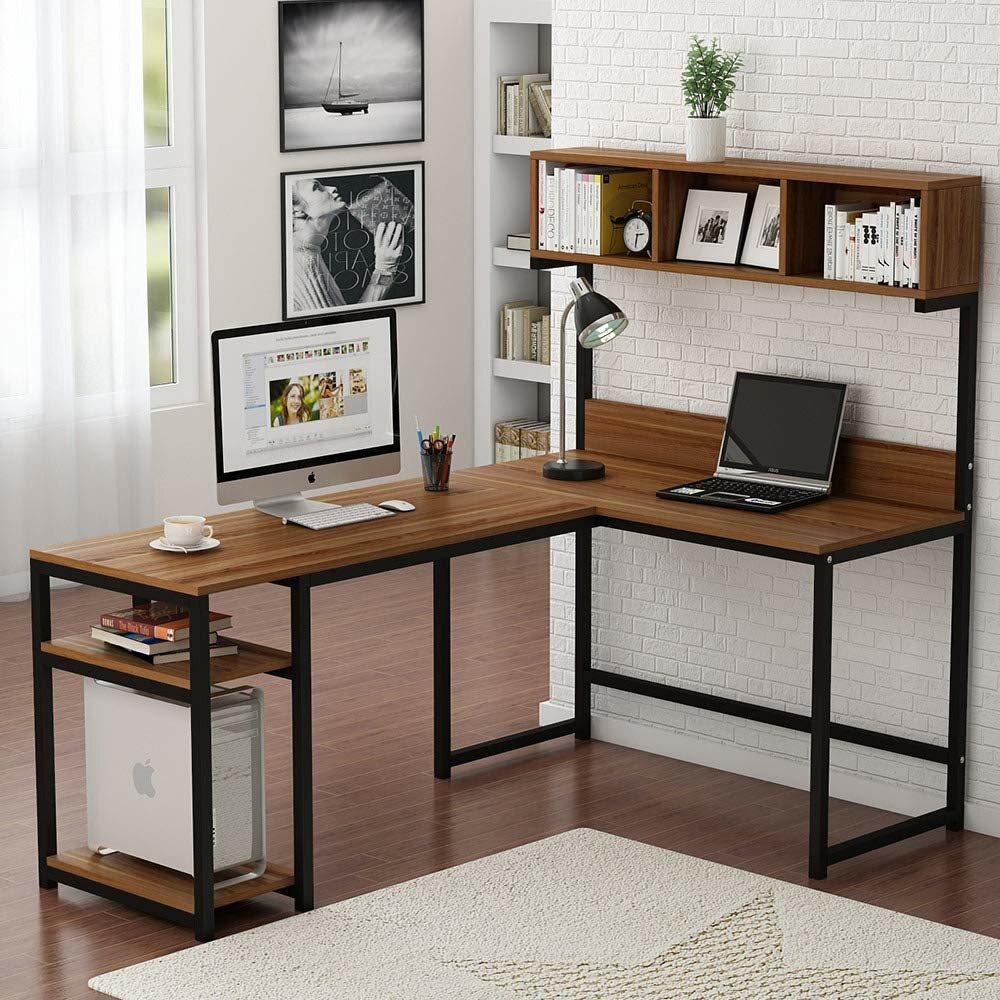 Swell Nekoosa L Shaped Desk With Hutch Download Free Architecture Designs Scobabritishbridgeorg
