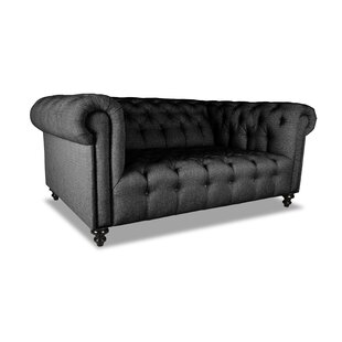 Best Deals Estill Plush Deep Chesterfield Sofa by Darby Home Co Reviews (2019) & Buyer's Guide