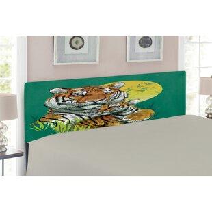 Safari Upholstered Panel Headboard by East Urban Home