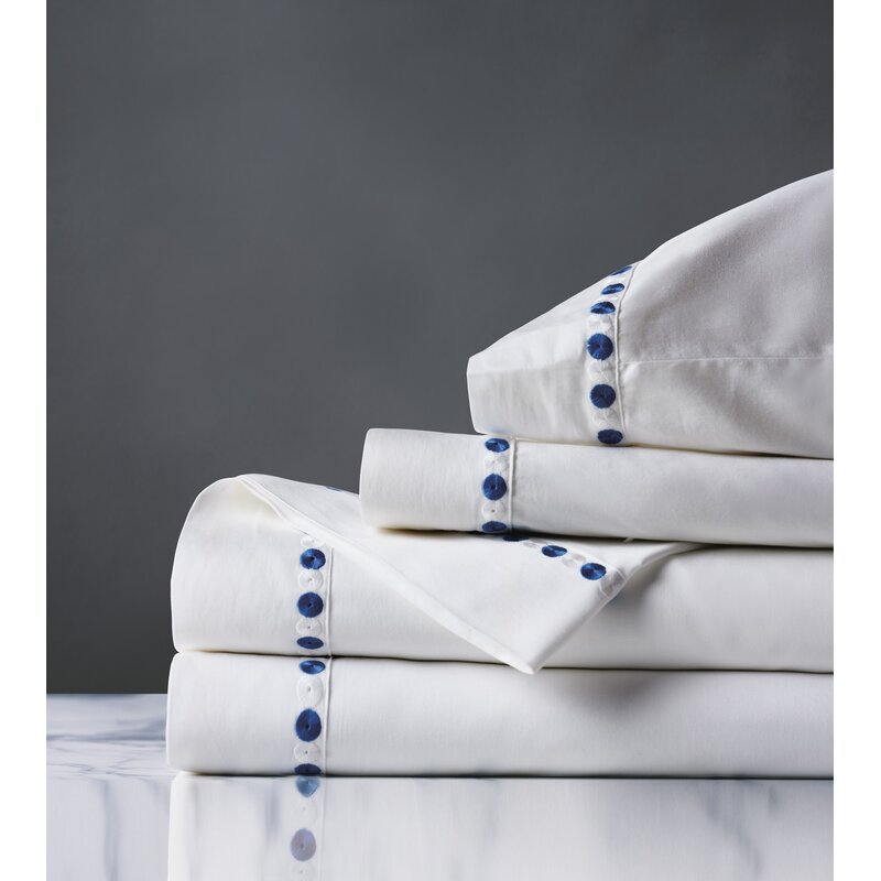 Eastern Accents Wren 300 Thread Count 100 Cotton Sheet Set Wayfair