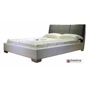 Upholstered Platform Bed by Greatime