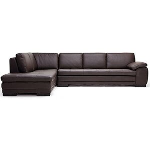 Dimor Leather Sectional by..
