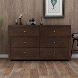 Avdullah 6 Drawer Double Dresser by Latitude Run