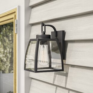 Silver Gulch 1-Light Outdoor Wall Lantern By Red Barrel Studio Outdoor Lighting