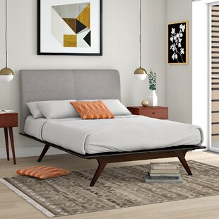 Hannigan Upholstered Platform Bed by Langley Street Spacial Price