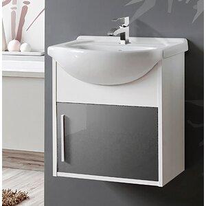 Belfry Bathroom 50 cm Wandmontierter Waschtisch Domino
