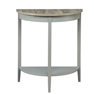 Florissant Half Moon Console Table by Gracie Oaks