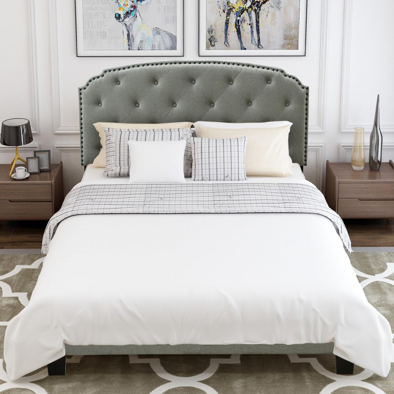 Canora Grey Queen Low Profile Bed Wayfair