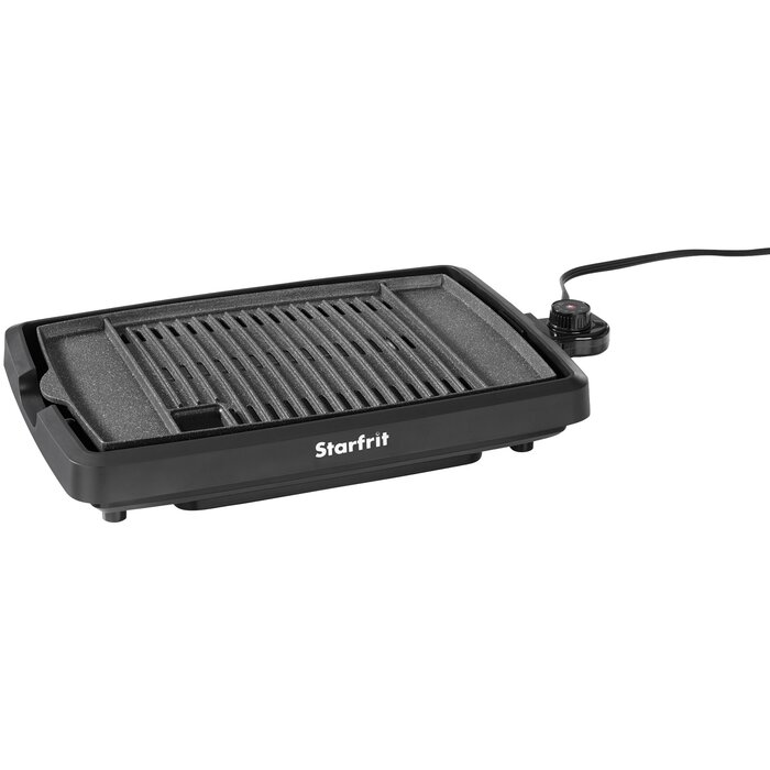 The Rock by Starfrit Indoor Smokeless Electric Grill