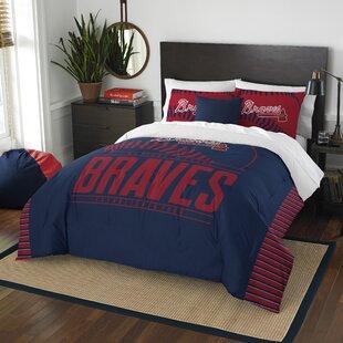 MLB Grand Slam 3 Piece Full/Queen Comforter Set