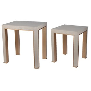 Januario 2 Piece Nesting Table Set