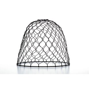 Chicken Wire 9.9 Metal Dome Lamp Shade