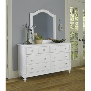 Reviews Nickelsville 8 Drawer Double Dresser with Mirror by Three Posts Reviews (2019) & Buyer's Guide