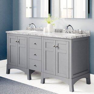 Piccirillo 60 Double Bathroom Vanity Set by Brayden Studio