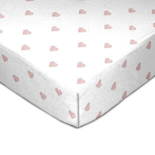 Best Price Muslin Heart Fitted Crib Sheet By Living Textiles Baby