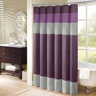Dark Purple Shower Curtain