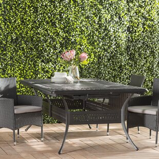 Harland  Extendable Metal Dining Table