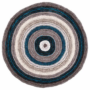 Weeden Hand-Tufted Brown/Blue Area Rug by George Oliver
