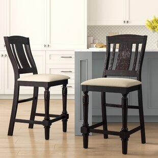 Amazing Broadway 26 Bar Stool Set Of 2 Customarchery Wood Chair Design Ideas Customarcherynet