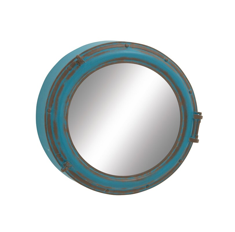 prescott round wall mirror