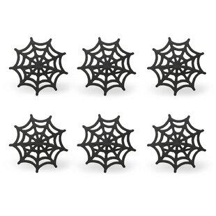 Web Spider Napkin Ring (Set of 6)