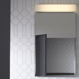 PL Series 15.25 x 30 Recessed Framed Medicine Cabinet with 3 Adjustable Shelves