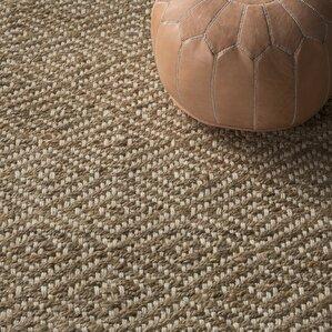 vachel handwoven natural area rug - Rustic Area Rugs