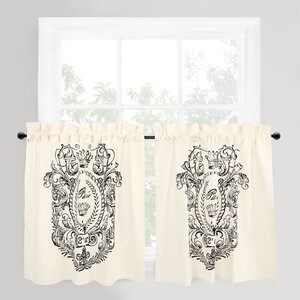 Vintage House Cafe Curtain